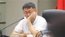 柯文哲、台北市長/中央社