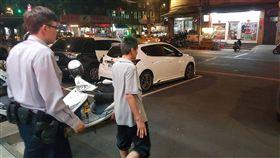 警方通知李男到案說明。(圖/翻攝畫面)