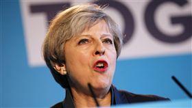 英國首相梅伊(Theresa May)、英國保守黨政治家(圖/路透社/達志影像)