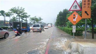 阿里山公路坍方 搶修恢復雙向通行
