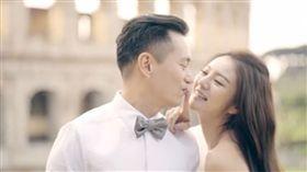 安以軒,陳榮煉(圖/翻攝自新浪娛樂微博)