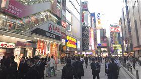 日本街景、日本秋葉原街景、日本
