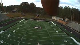 橄欖球,足球,美式足球,美國,無人機 圖/翻攝自YouTube