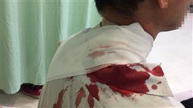 台中公車司機遭乘客砍傷 警逮1人(圖/翻攝畫面/中央社)