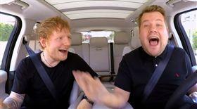 紅髮艾德,Ed Sheeran,詹姆斯柯登,James Corden,兜風KTV,深夜秀,吉他,自彈自唱/YouTube