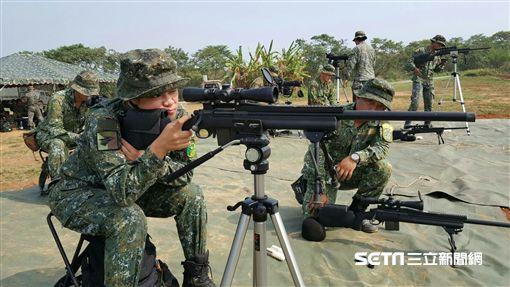花東首位女狙擊手,台東地區指揮部機步一營營部連中士簡佩華
