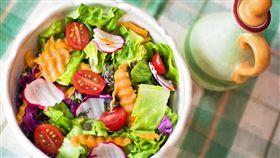 沙拉,蔬菜,蔬果,纖維質,減肥,減重 (圖/Pixabay)