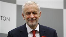 英國在野黨工黨領袖柯賓(Jeremy Corbyn)(圖/美聯社/達志影像)