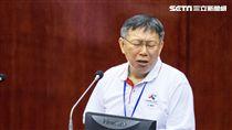 台北市長柯文哲赴市議會備詢 圖/記者林敬旻攝