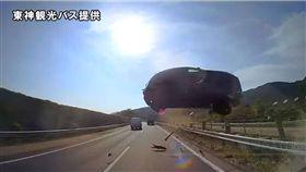 日本,車禍,死亡,高速公路,巴士,轎車,行車記錄器