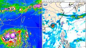 吳德榮,颱風,梅雨 圖/中央氣象局