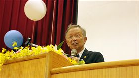李家同出席金門大學畢業典禮(圖/中央社)
