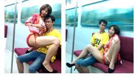 AV女優騎乘「鄧佳華」爆乳貼臉 網友看完都哀嘆了:錢好難賺(圖/翻攝自鄧佳華臉書)