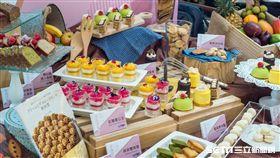 漢來海港,吃到飽,甜點祭。(圖/漢來海港提供)