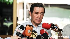 前總統馬英九出席捐血活動 圖/記者林敬旻攝