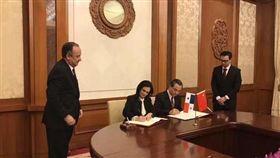 中國與巴拿馬建交(圖/翻攝新浪網)