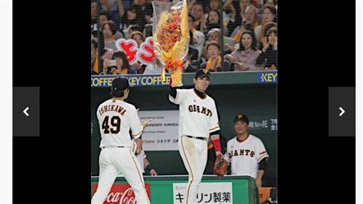 ▲台灣外野手陽岱鋼在日本職棒千場出賽。(圖/截自日本媒體)