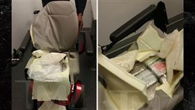飛機,航班,違禁品,毒品,古柯鹼,電動輪椅,椅墊,捷藍航空,JetBlue,班機,海關,運毒 (圖/翻攝自TMZ)