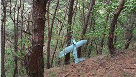 北韓無人機墜毀南韓境內。(圖/翻攝自ABC Online)