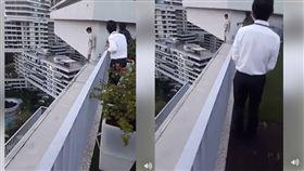 新加坡女家庭看護墜樓/Ayu Thalyta臉書