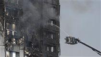 倫敦,公寓,大火,火警,罹難 圖/路透社/達志影像