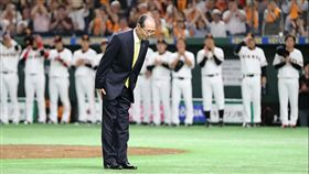 ▲讀賣巨人舉辦756轟40週年紀念,王貞治受邀到東京巨蛋。(圖/截自讀賣巨人twitter)