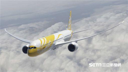 酷航787客機,機艙。(圖/酷航提供)