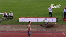 跳遠,假髮,Blessing Okagbare,IAAF Diamond League,奧斯陸 圖/翻攝自YouTube