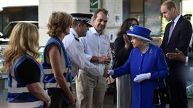 英國,倫敦大火,英國女王伊麗莎白二世(圖/路透社/達志影像)
