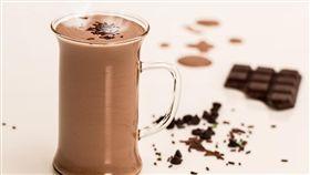 巧克力牛奶,巧克力牛乳,調味乳 (圖/Pixabay)