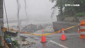 豪雨山崩害路斷 桃源近3百人恐斷糧