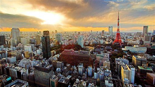 日本東京,東京鐵塔。(圖/國泰航空提供)