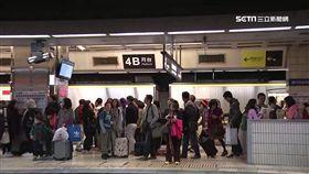 -台鐵-月台-返鄉-台北車站-疏運-