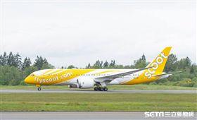 酷航787客機。(圖/酷航提供)