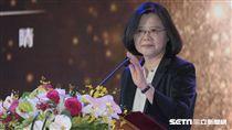 總統蔡英文出席民視電視台20周年慶祝大會 圖/記者林敬旻攝