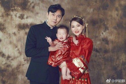 伊能靜,婚姻,秦昊,小米粒 圖/翻攝自伊能靜微博