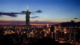 台北,信義區,101,夜景, 圖/Pixabay