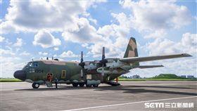 C-130運輸機 圖/記者林敬旻攝