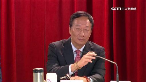 郭台銘主持鴻海股東會