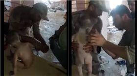 伊拉克,IS,男嬰,戰場 圖/翻攝自YouTube
