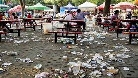 日本社區,大陸人進駐,垃圾,髒亂(圖/翻攝自臉書)