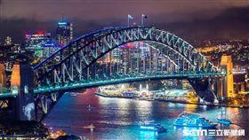 澳洲雪梨,雪梨大橋,雪梨歌劇院。(圖/澳旅局提供)