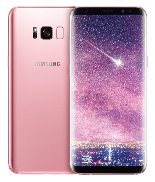 Galaxy S8+ 瑰蜜粉 三星提供