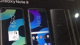 Galaxy Note 8 三星 翻攝微博
