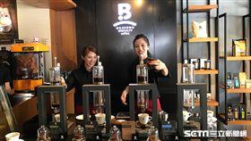 伯朗咖啡館,金車集團,Mr. Brown Specialty Coffee,咖啡機。(圖/記者簡佑庭攝)