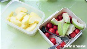 番茄,水果,蘋果,拔樂,纖維,蔬果(圖/記者李鴻典攝)