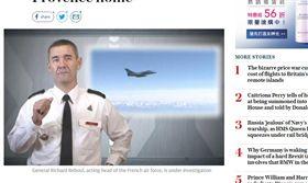 一次近5萬台幣!徵召戰鬥機送自己回家 法空軍司令遭調查 圖/翻攝自telegraph http://www.telegraph.co.uk/news/2017/06/28/french-air-force-chief-investigation-allegedly-using-fighter/