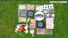 露營新創舉 尖石鯛營區直接上菜啦!
