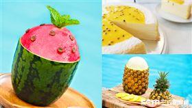 水果口味冰品。(圖/太魯閣晶英酒店提供)
