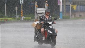 下雨,降雨,陣雨,天氣,氣象,雨天 圖/中央社